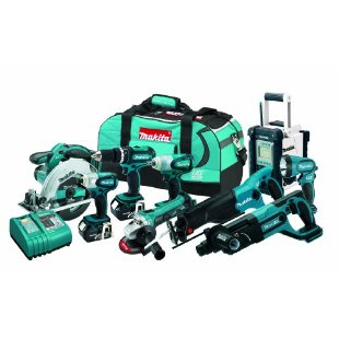 Makita LXT902 LXT 18v Lithium-Ion Cordless 9-Tool Combo Kit