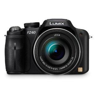 Panasonic Lumix DMC-FZ40 14.1MP Digital Camera with 24x IS Zoom