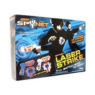 Spy Net Laser Strike with Dual Laser Systems