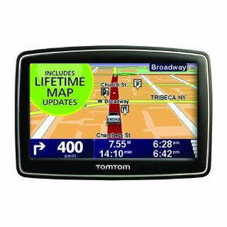 TomTom XL 340M 4.3 GPS with Lifetime Map Updates