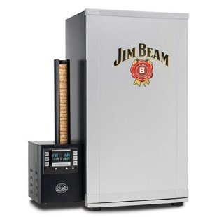 Bradley Jim Beam 4-Rack Digital Outdoor Smoker (BTDS76JB)