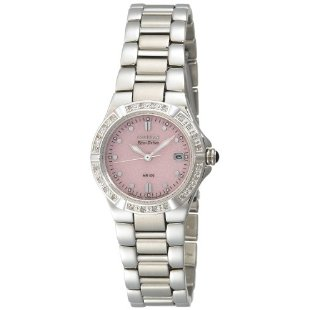 Citizen Women's Eco-Drive Riva Diamond Accented Stainless Steel Watch EW0890-58X