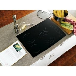 GE Profile CleanDesign PP945BMBB 30 Smoothtop Electric Cooktop (Black)