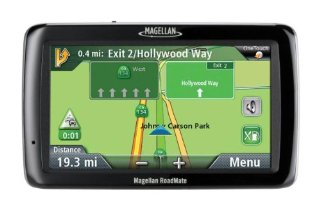 Magellan RoadMate 5045-LM 5 GPS with Lifetime Maps and Traffic