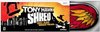 Tony Hawk Shred Bundle [Wii]