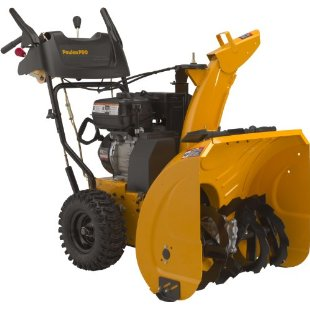 Poulan Pro PR624ES 24 208cc LCT Gas Powered Two-Stage Snow Thrower With Electric Start