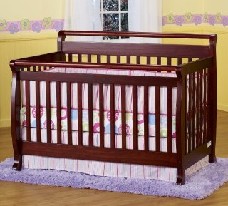DaVinci Emily 4-in-1 Convertible Crib (Cherry)