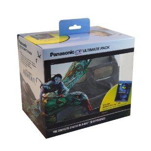 Panasonic TY-EW3D2MMK2 Ultimate 3D Pack with Avatar 3D  Blu-ray Movie, 2 Rechargeable 3D Glasses