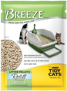 Tidy Cats Breeze Litter Pellet Refill, 3.5-Pound Packages (Pack of 6, Total of 21 lbs)