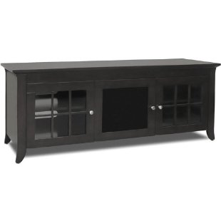 Techcraft Credenza Stand for 60 and smaller LCD and Plasma TVs (Black, #CRE60B)