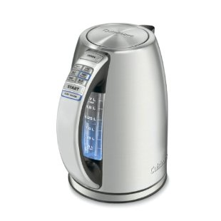 Cuisinart CPK-17 PerfecTemp Stainless-Steel Electric Kettle