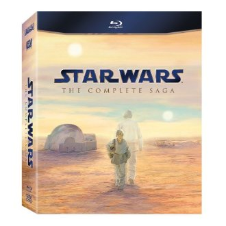 Star Wars The Complete Saga (Episodes I-VI) Box Set [Blu-ray]