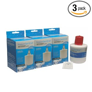 Water Sentinel WSS-1 Replacement Filter for Samsung DA29-00003B (3-Pack)