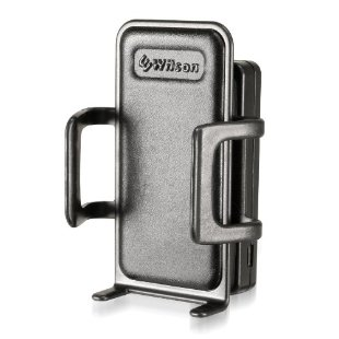 Wilson Sleek Cradle Signal Booster with Mini Magnet Mount Antenna for All Cell Phones (# 815226)