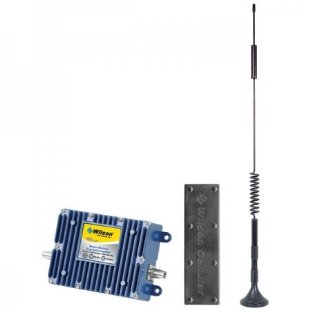 Wilson Wireless Mobile Cell Phone Signal Amplifier Kit for one Vehicle and Multiple Users (# 801212)