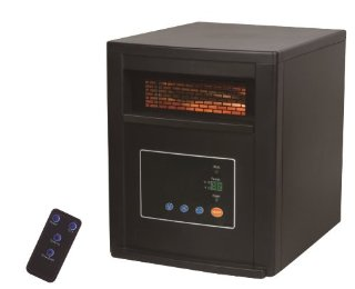 LifeSmart LS1500-4 Infrared Quartz Heater (1500w)