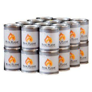 Real Flame Gel Fuel, 13oz Cans (24-Pack)
