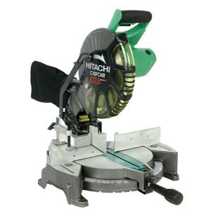 Hitachi C10FCH2 10 Compound Miter Saw with Laser
