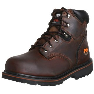 "Timberland PRO Pitboss 6"" Steel-Toe Boot (#33034, Gaucho Brown)"