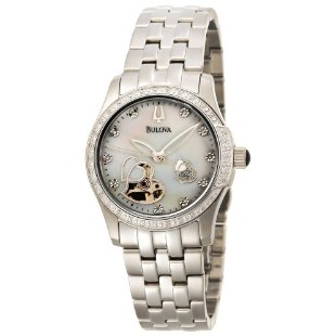 Bulova 96R122 Diamond Accented BVA-Series Women's Watch