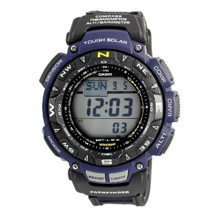 Casio PAG240B-2CR Pathfinder Triple Sensor Solar Watch (PAG240B-2)