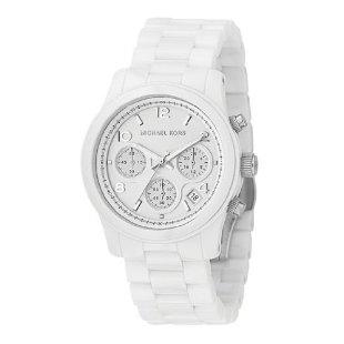 Michael Kors MK5161 White Ceramic Chronograph Women's Watch