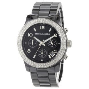 Michael Kors MK5190 Black Ceramic Runway Glitz Watch