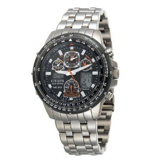Citizen JY0010-50E Eco-Drive Skyhawk A-T Titanium Men's Watch