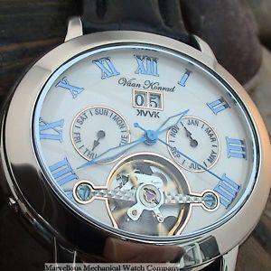 Vaan Konrad Expellion 35 Jewel Open Heart Watch