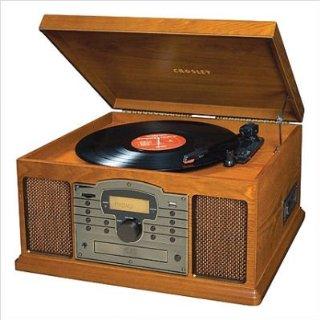Crosley Troubadour Turntable with MP3, CD Player (Paprika)