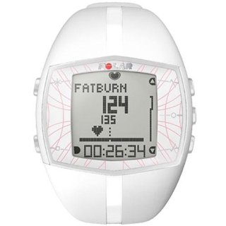 Polar FT40F Heart Rate Monitor (White)