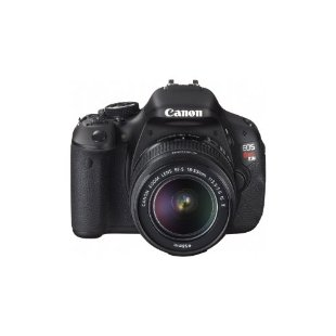 Canon EOS Rebel T3i CMOS Digital SLR Camera with EF-S 18-55mm f/3.5-5.6 IS Lens