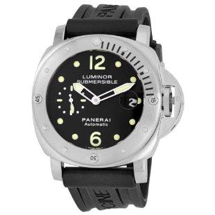 Panerai PAM00024 Luminor Submersible Black Dial Watch