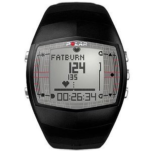 Polar FT40 Men's Heart Rate Monitor Watch (Black)
