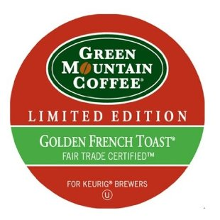 Green Mountain Coffee Golden French Toast , Limited Edition (24 K-Cups )