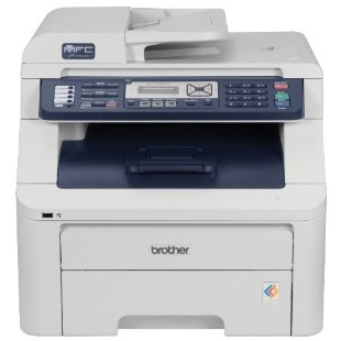 Brother MFC-9320CW Color All-in-One Printer with Wireless Networking