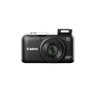 Canon PowerShot SX230HS 12MP Digital Camera with 14x Zoom, GPS
