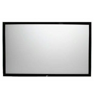 Elite Screens 120 SableFrame Fixed Screen (16:9, CineWhite, # ER120WH1)
