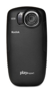 Kodak PlaySport Zx5 HD Waterproof Pocket Video Camera (2nd Generation, Black)