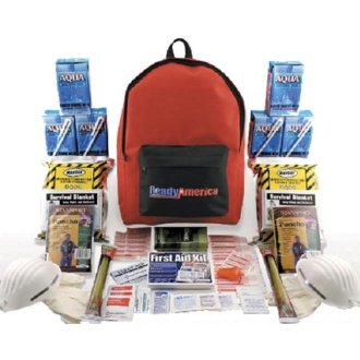Quakehold! Grab-n-Go 3-Day Emergency Kit 2-Person Backpack