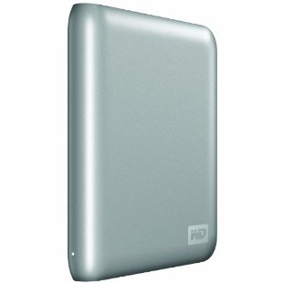 WD My Passport SE 1TB for Mac Portable External Hard Drive (Silver)