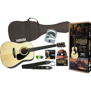 Yamaha Gigmaker Deluxe Acoustic Guitar Package
