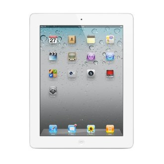 Apple iPad 2 Tablet (64GB, Wi-Fi + AT&T 3G, White, MC984LL/A)