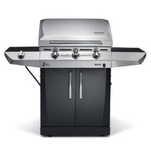 Char-Broil Magnum 500 Quantum Infrared 3-Burner Gas Grill with Sideburner