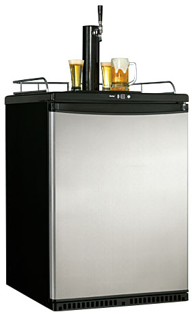 Danby Kegerator DKC645BLS Designer Stainless Steel Beer Keg Cooler