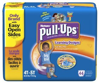 Huggies Pull-Ups Training Pants with Toy Story 3 Learning Designs, Boys, 4T-5T (Box of 44)