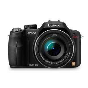 Panasonic Lumix DMC-FZ100 14.1MP Digital Camera with 24x IS Zoom
