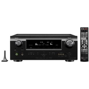 Denon AVR-891 7.1 Channel 1080p 3D AV Home Theater Multi-Source / Multi-Zone Receiver with HDMI 1.4a