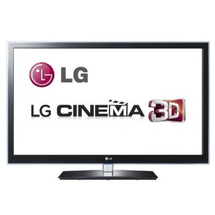 LG Infinia 55LW6500 55 Cinema 3D 1080p 240Hz LED HDTV with Smart TV and 4 Pairs of 3D Glasses