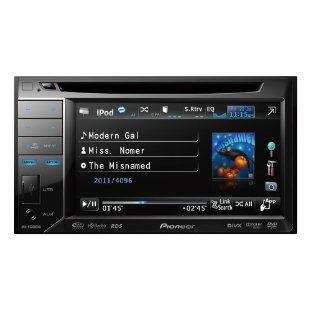 Pioneer AVH-P2300DVD 5.8 In-Dash Double-DIN DVD AV Receiver with iPod/iPhone Control